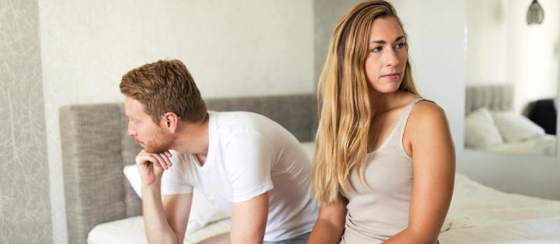 Relationship Problems Due To Stress Can Ruin Sex Life