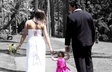 Wedding Vows for the Couple with Children to Mark Their Unison