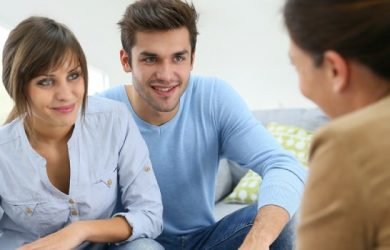During counseling, couples can ask questions and provide ideas that may help their relationship