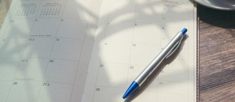 Drop the schedule