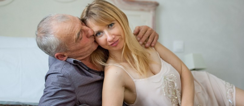 Old people sex Pleasing a younger woman