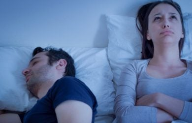 Desperate Woman Can't Sleep Because His Man Is Snoring