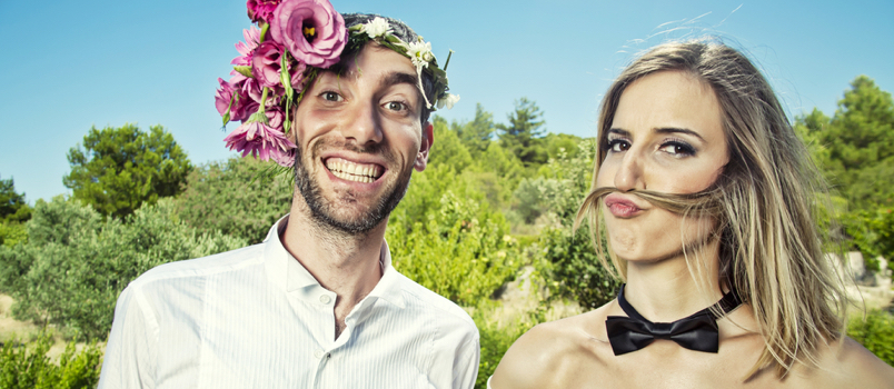 Here's some funny piece of marriage advice for you – try NOT to live happily ever after