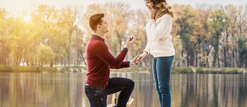 Some Original Marriage Proposal Ideas