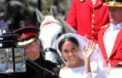 Prince Harry and Actress Meghan Markle's wedding
