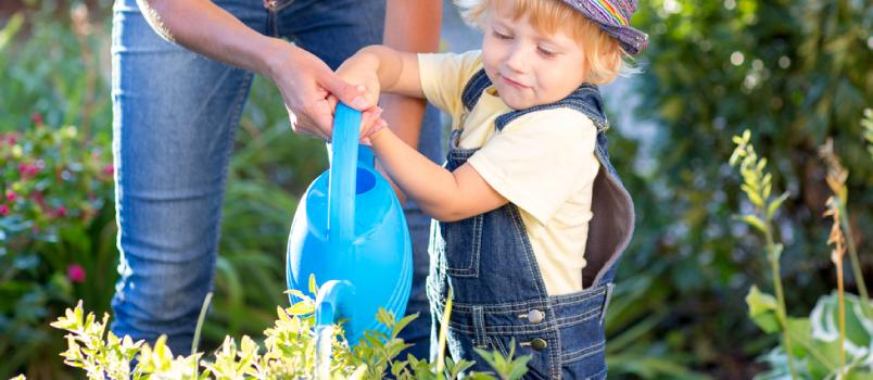 By asking for your child's hand in chores, you give them a message that you count on them
