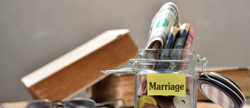 Marriage signifies the union of finances