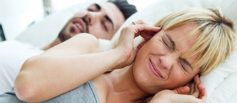 Sometimes listening to snoring husband can make you really mad