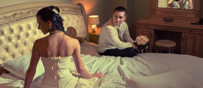 Wedding night tips for virgin men