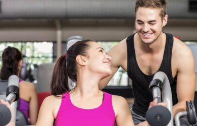 Break a sweat together