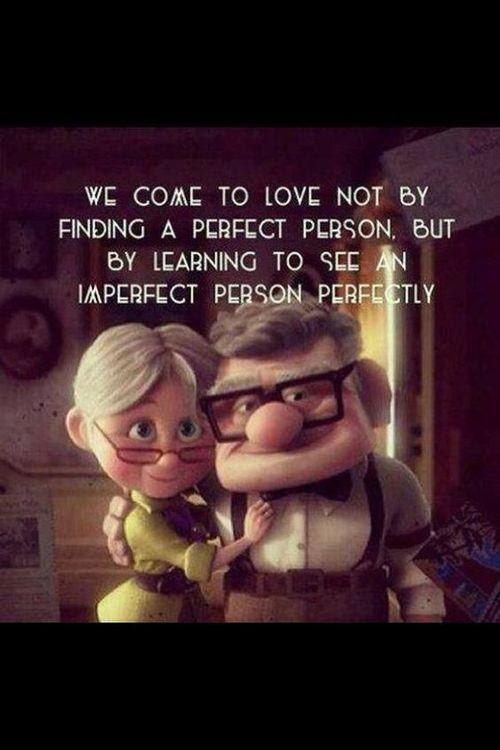 Loving a perfect person