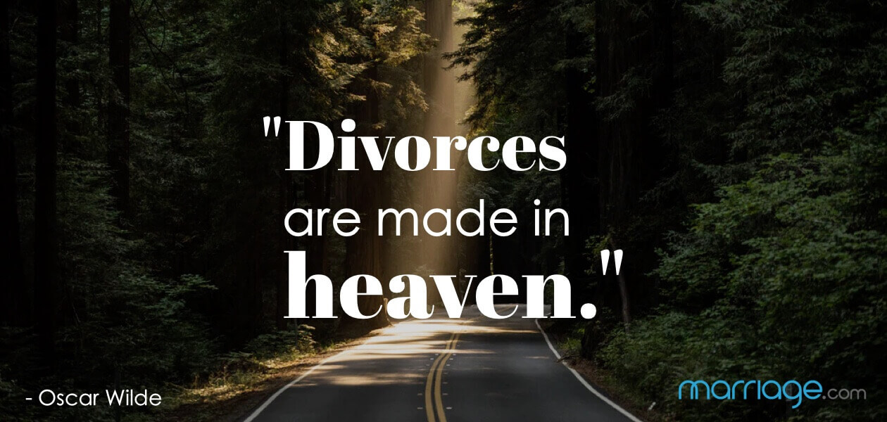 ""\""""Divorces are made in heaven."""" - Oscar Wilde""1260|600|?|en|2|dc1e135d391b85d724bb32192765d6c1|False|NSFW|0.32157841324806213