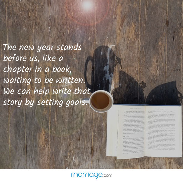 the new year stands before us like a chapter in a book waiting to marriage quotes