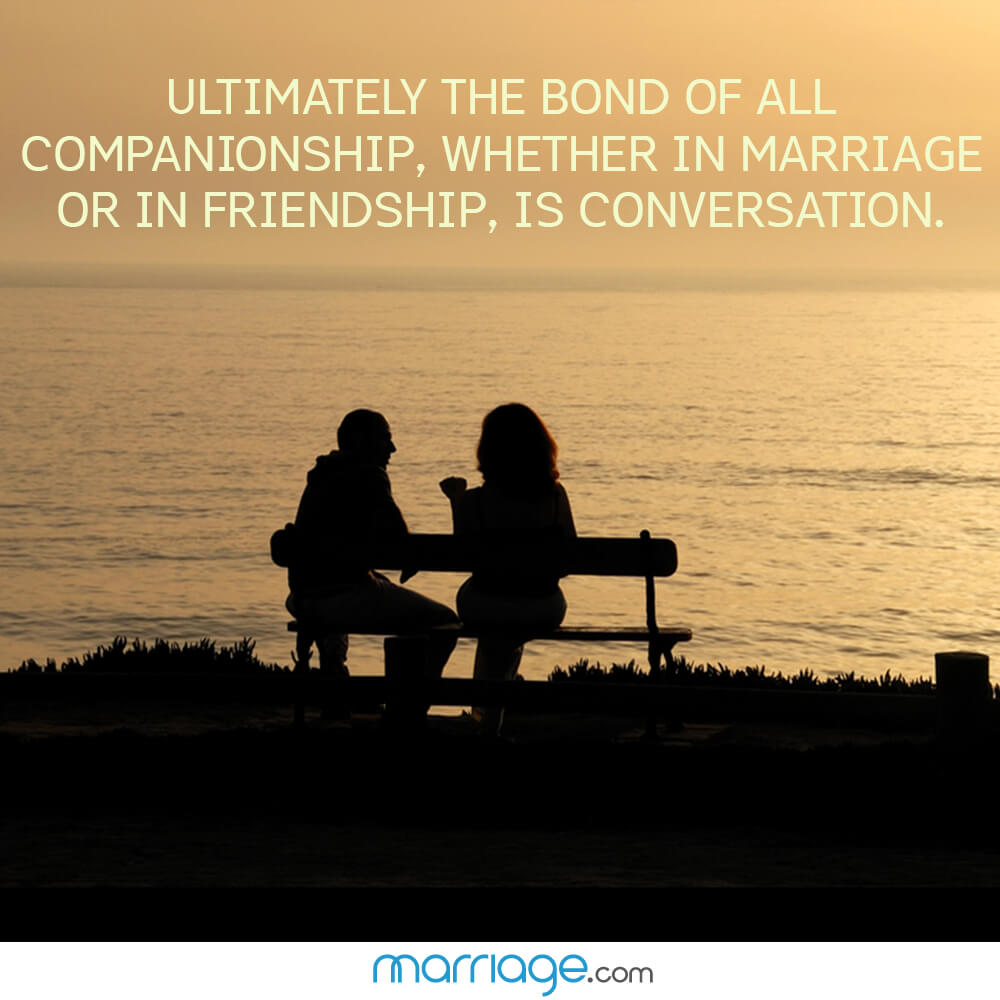 Bond Quotes Ultimately The Bond Of All Companionship Marriage Quotes